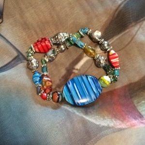 Beautiful colorful bracelet.